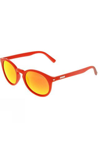 Sinner Patnem Sunglasses Crystal Orange/Orange Mirror