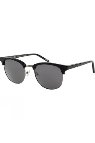Dirty Dog TokioRed Sunglasses Black/Gun Silver Flash Mirror Polarised