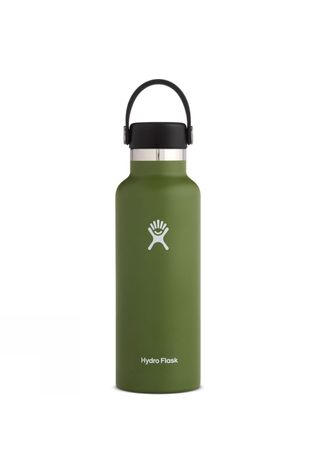 Hydro Flask Standard Mouth 21oz with Flex Cap Dark Olive