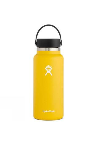 Hydro Flask Wide Mouth 32oz Flask Flex Cap Sunflower