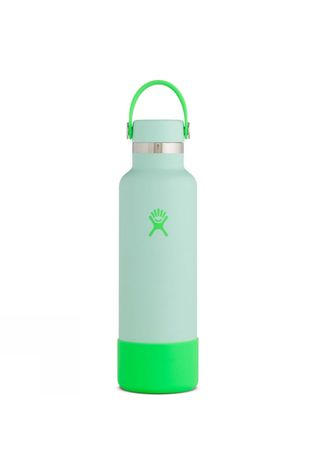 Hydro Flask Prism Standard Mouth 21oz with Flex Cap & Boot Bright Green