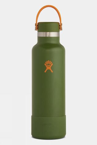 Hydro Flask Timberline Standard Mouth 21oz with Flex Cap & Boot Treeline