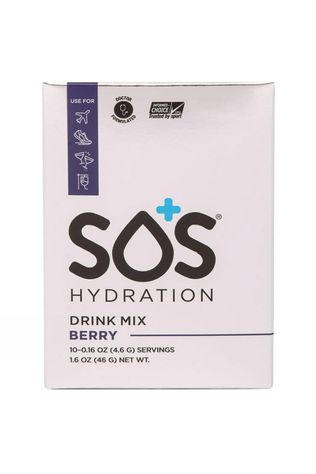 SOS Hydration  SOS Hydration Berry Electrolyte Drink (10 Sachets) Berry