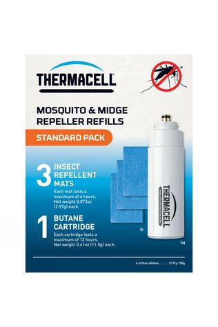 Thermacell Standard Refill Pack (Mats & Gas) No Colour/No Colour