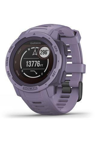 Garmin Instinct Solar GPS Watch Orchid