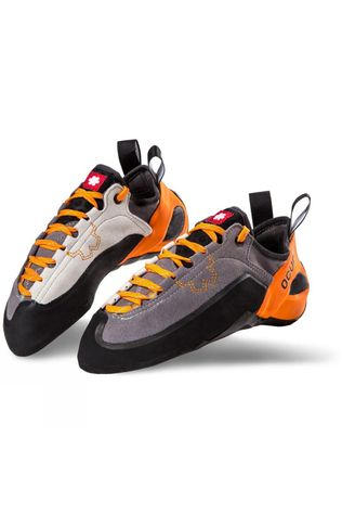 Ocun Jett LU Climbing Shoe Orange/Mid Grey