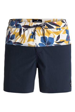 "Quiksilver Men's 17"" Cut Out Volley Shorts Navy Blazer"