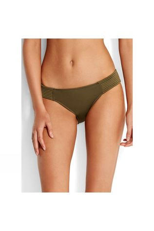 Seafolly Womens Quilted Hipster Pant DARK OLIVE DARK OLIVE