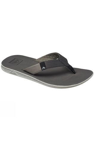 Reef Men's Slammed Rover Flip Flops Grey