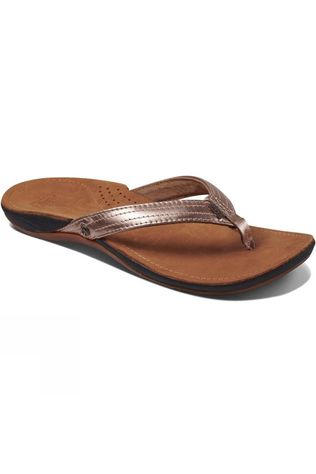 Reef Women's Miss J-Bay Flip Flop Rose Gold