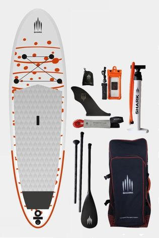 Shark 10'2 All Round iSUP Paddle Board Package White/Orange