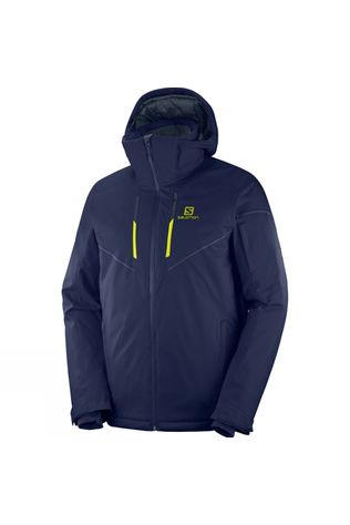 Salomon Mens Stormrace Jacket Night Sky