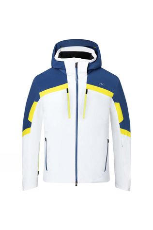 KJUS Speed Reader Jacket White-Southern Blue