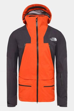 The North Face Mens Purist Futurelight Jacket Papaya Orange/Weathered Black