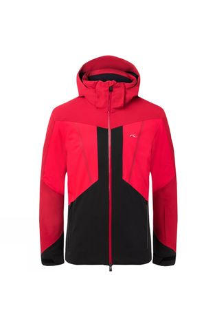 KJUS Mens Boval Jacket Currant Red/Scarlet