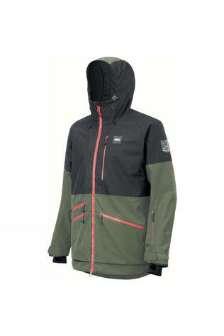 Picture Men's Stone Jacket Black Lychen Green