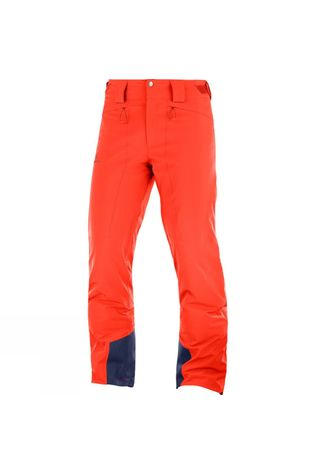 Salomon Mens Icemania Pants Cherry Tomato