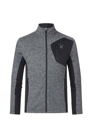 Spyder Mens Bandit Full Zip Jacket BLK/ALL