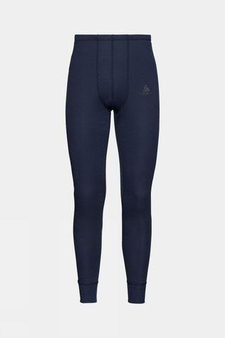 Odlo Mens Active Warm Eco Baselayer Pant Diving Navy