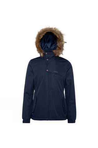 Protest Womens Peaceful Snow Jacket Ground Blue