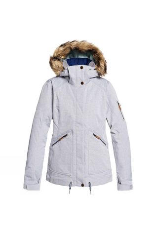 Roxy Womens Meade Jacket Heather Grey