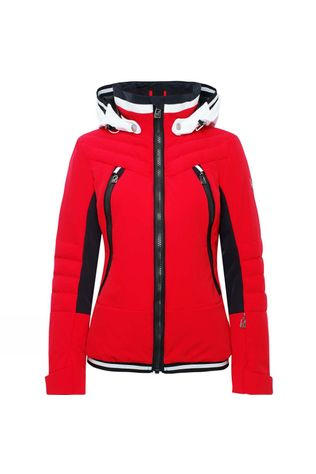 Toni Sailer Sports Womens Cosima Jacket Flame Red