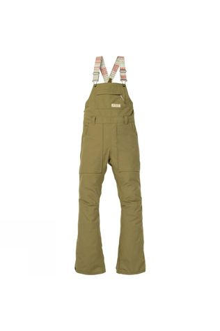 Burton Womens Avalon Bib Pants Martini Olive