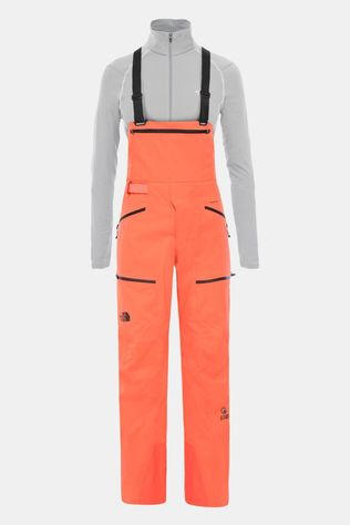 The North Face Womens Purist Steep Series Ski Futurelight Bib Radiant Orange
