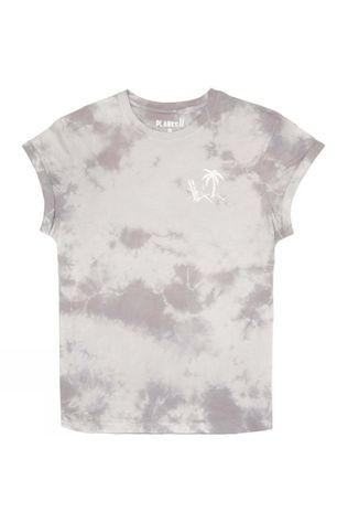 Planks Women's Good Times Relaxed Pocket T-Shirt Tie-dye