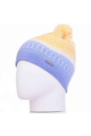 K-Nit Minter Ditty Bobble Beanie Blue/Yellow