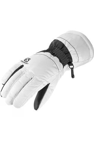 Salomon Womens Force Glove White/Black