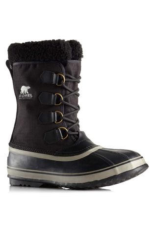 Sorel Men's 1964 Pac Nylon Boot Black/Ancient Fossil
