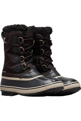 Sorel 1964 Pac Nylon Boot Black, Ancient Fossil