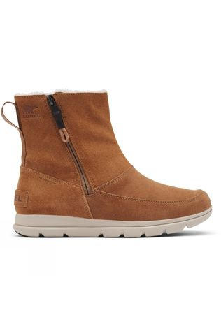 Sorel Womens Explorer Zip Boot Camel Brown