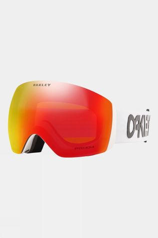 Oakley Flight Deck Goggles Factory Pilot White / Prizm Snow Torch