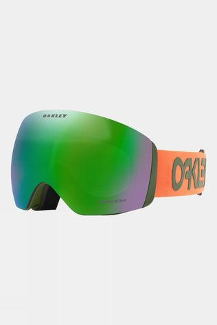 Oakley Flight Deck Goggles Factory Pilot Orange Dark Brush / Prizm Snow Jade