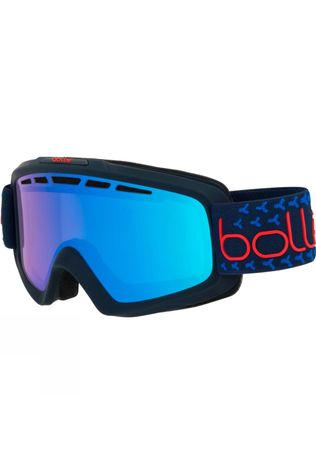Bolle Mens Nova II Goggle Matt Navy Red/ Photochromatic Vermillon Blue