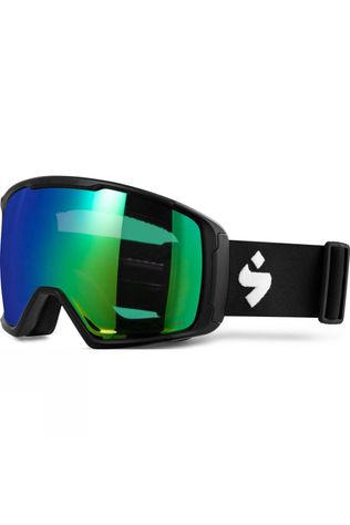 Sweet Protection Clockwork RIG Goggle Matte Black w. RIG Emerald