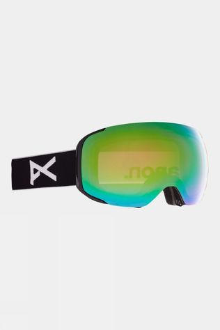 Anon Men's M2 Goggle (Spare Lens Included) Black / Perceive Variable Green & Cloudy Pink