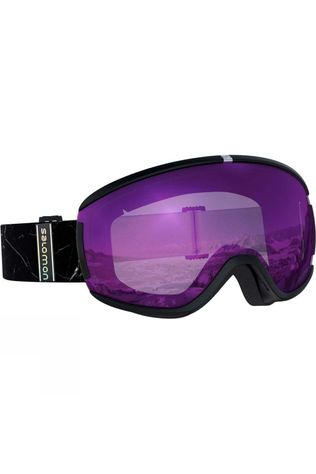 Salomon Womens Ivy Goggle Black Marble / Universal Ruby
