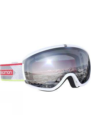 Salomon Womens Ivy Goggle White Corail