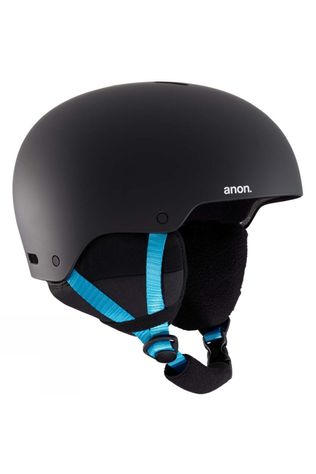 Anon Mens Raider 3 Helmet Black Pop EU