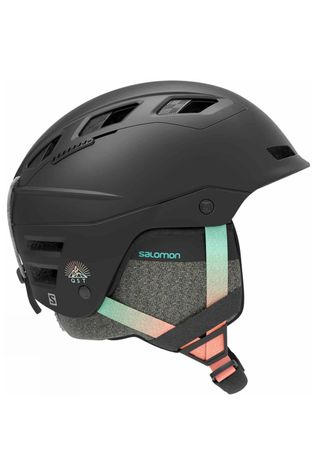 Salomon Womens QST Charge Helmet Black Gradient