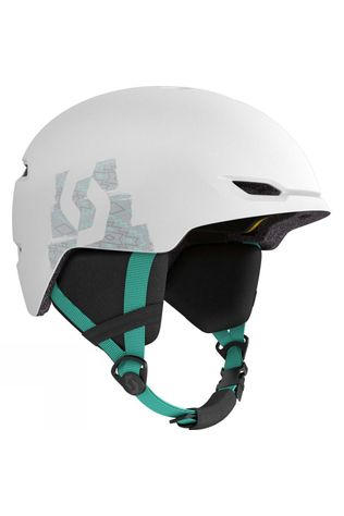 Scott Junior Keeper 2 Plus MIPS Helmet White / Mint Green