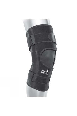 Bioskin CrossFire Knee Brace - Front Closure Black