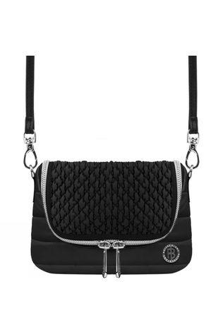 Poivre Blanc Womens Riva Belt Bag Black