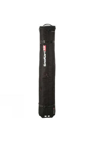 SnoKart 2 Ski Roller Bag Black