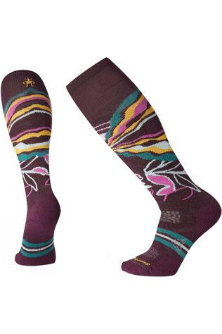 Womens PHD Ski Medium Pattern Socks