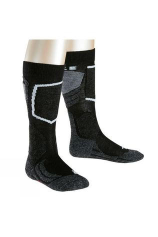 Falke Kid's SK2 Skiing Socks Black