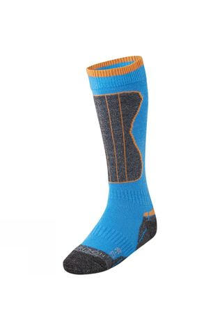 Horizon Kid's Wintersports Merino Sock ROYAL/VIBRANT ORANGE